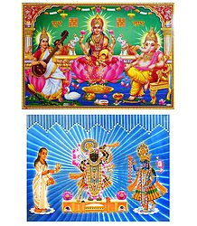 Hindu Deities - Set of 2 Posters
