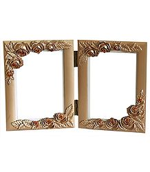 Acrylic Carved Photo Frame