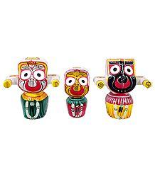 Jagannath, Balaram & Subhadra