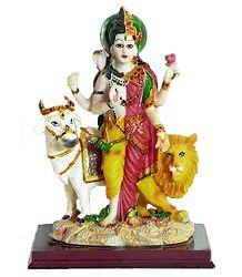 Ardhanarishvara - Resin Statue
