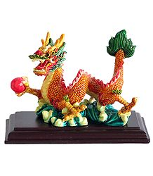 Resin Chinese Dragon -  Home Decor