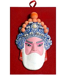 Resin Chinese Mask