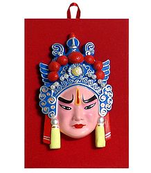Decorative Chinese Opera Mask