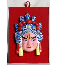 Decorative Chinese Opera Mask