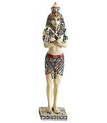 Standing Egyptian King