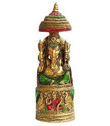 Resin Ganesha Statue