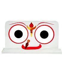 Jagannathdev Face on Acrylic Base
