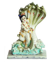 Kaliya Daman by Krishna - Resin Statue