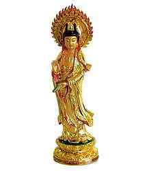 Kuan Yin - Resin Statue