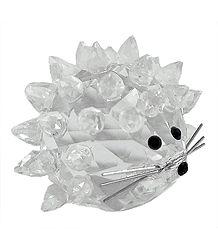 Crystal Porcupine Sculpture