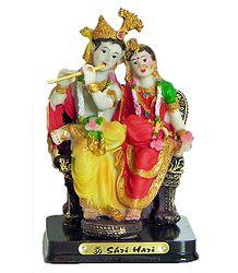 Radha Krishna - Resin Statue
