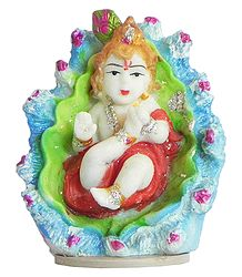Bal Gopal on Leaf