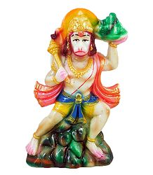 Hanuman - Devotee of Lord Rama - Resin Statue