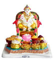 Kubera, God of Wealth - Resin Statue