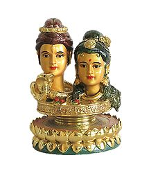 Shop Online Shiva Parvati - Resin Statue