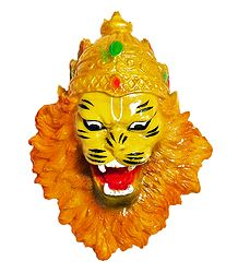 Face of Narasimha Avatar - Wall Hanging