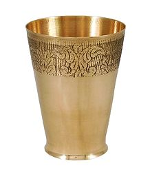 Brass Glass for Holy Water