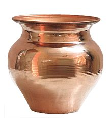 Buy Online Copper Kalash