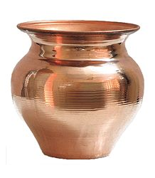 Copper Kalash for Holy Water