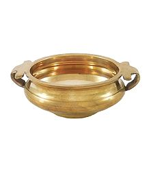 Brass Bowl with Handle
