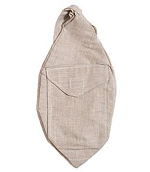 Light Beige Cotton Japamala Bag