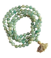 Buy Green Jade Stone Beads Japamala