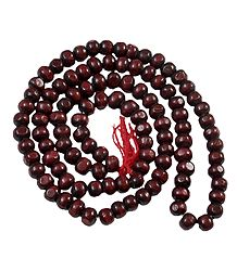 Red Sandalwood Beads Japamala