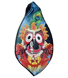 Japamala bag with Jagannath Print