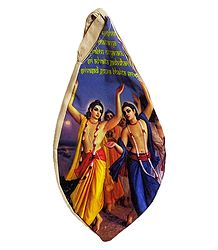 Japamala Cotton Bag with Gaur Nitai Print