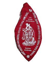 Red Japamala Cotton Bag