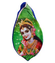 Japamala Cotton Bag with Radha Print