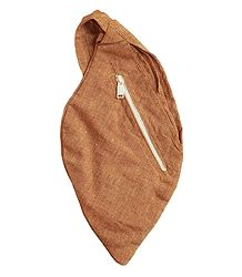 Light Brown Cotton Japamala Bag