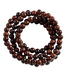 Red Sandalwood Beads Japamala