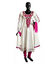 Embroidered Anarkali Churidart Kurta