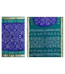 Buy Online Cotton Bandhej Saree