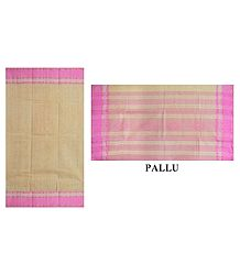 Shop Online Bengal Cotton Saree with Check All-Over