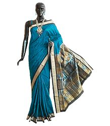 Buy Orissa Bomkai Pure Silk Saree