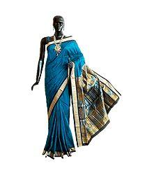 Buy Orissa Bomkai Pure Silk Saree