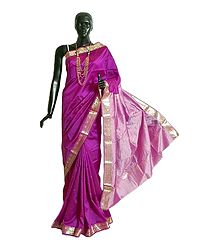 Magenta South Silk Saree