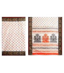 Printed Cotton Saree from Bengal