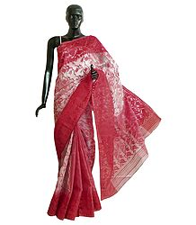 Cotton Dhakai Saree