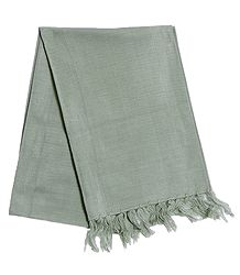 Light Pista Green Woolen Muffler