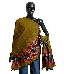 Orissa Cotton Ikkat Stole