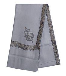 Shop Online Grey Woolen Gents Shawl