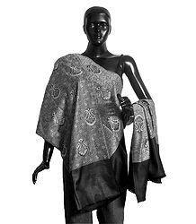 Reversible Woolen Kani Shawl