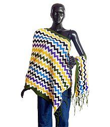 Multicolor Woolen Stole