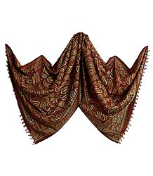 Silk Tussar Printed Stole