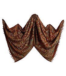 Silk Tussar Printed Stole