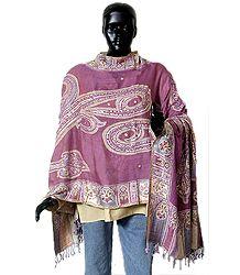 Shop Online Sequined Light Woolen Stole