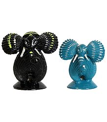 Elephant Couple - Set of 2